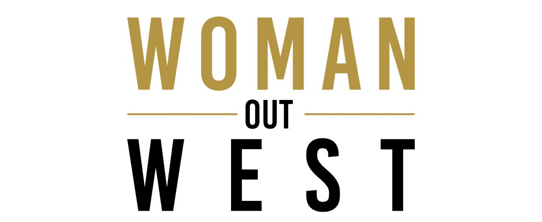 Woman Out West