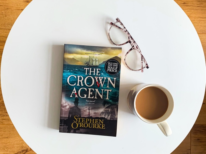 Review: The Crown Agent by StephenO'Rourke